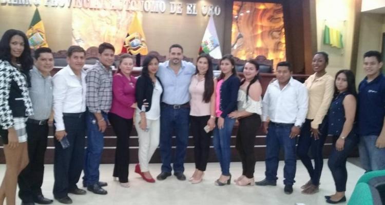 ENTREGA DE CERTIFICADOS - PREFECTURA DE EL ORO.